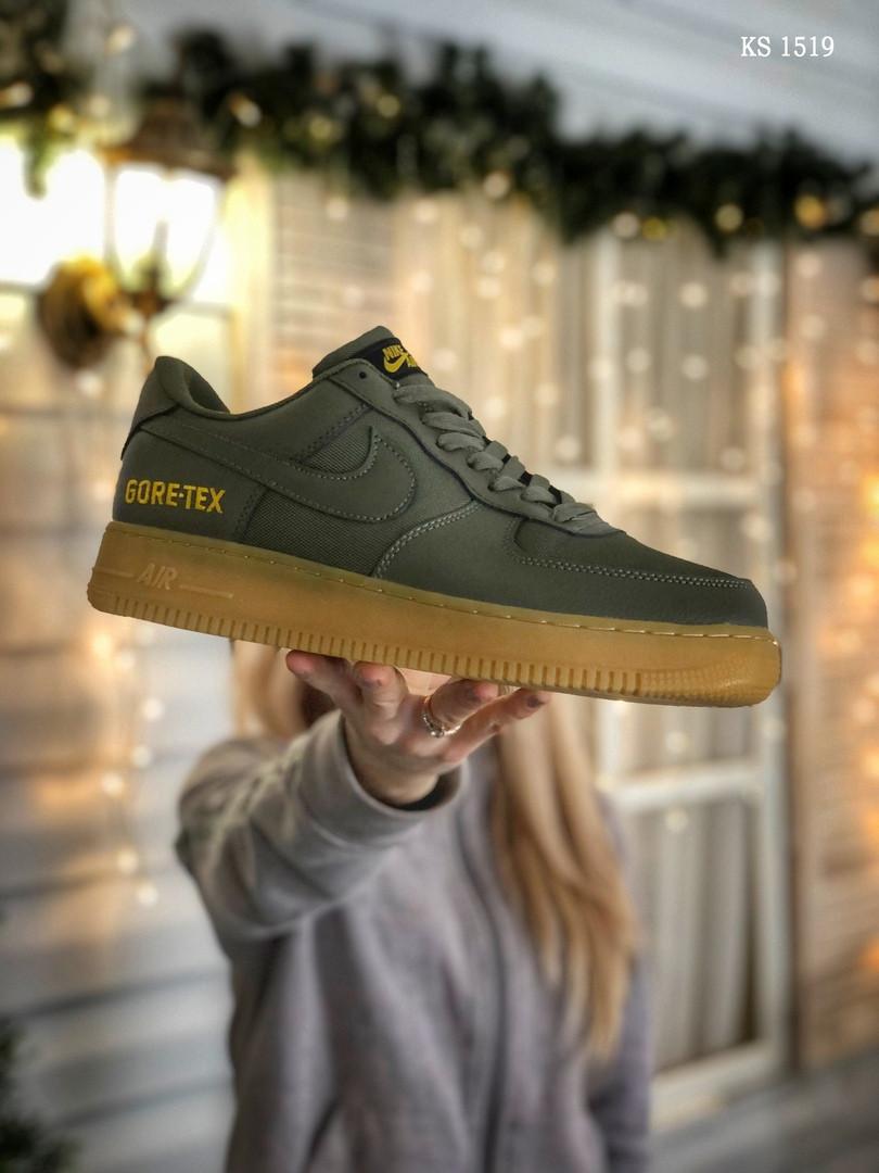 Чоловічі кросівки Nike Air Force 1 GORE-TEX (зелені)