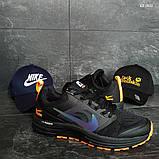 Мужские кроссовки Nike Pegasus 31 (черные), фото 8