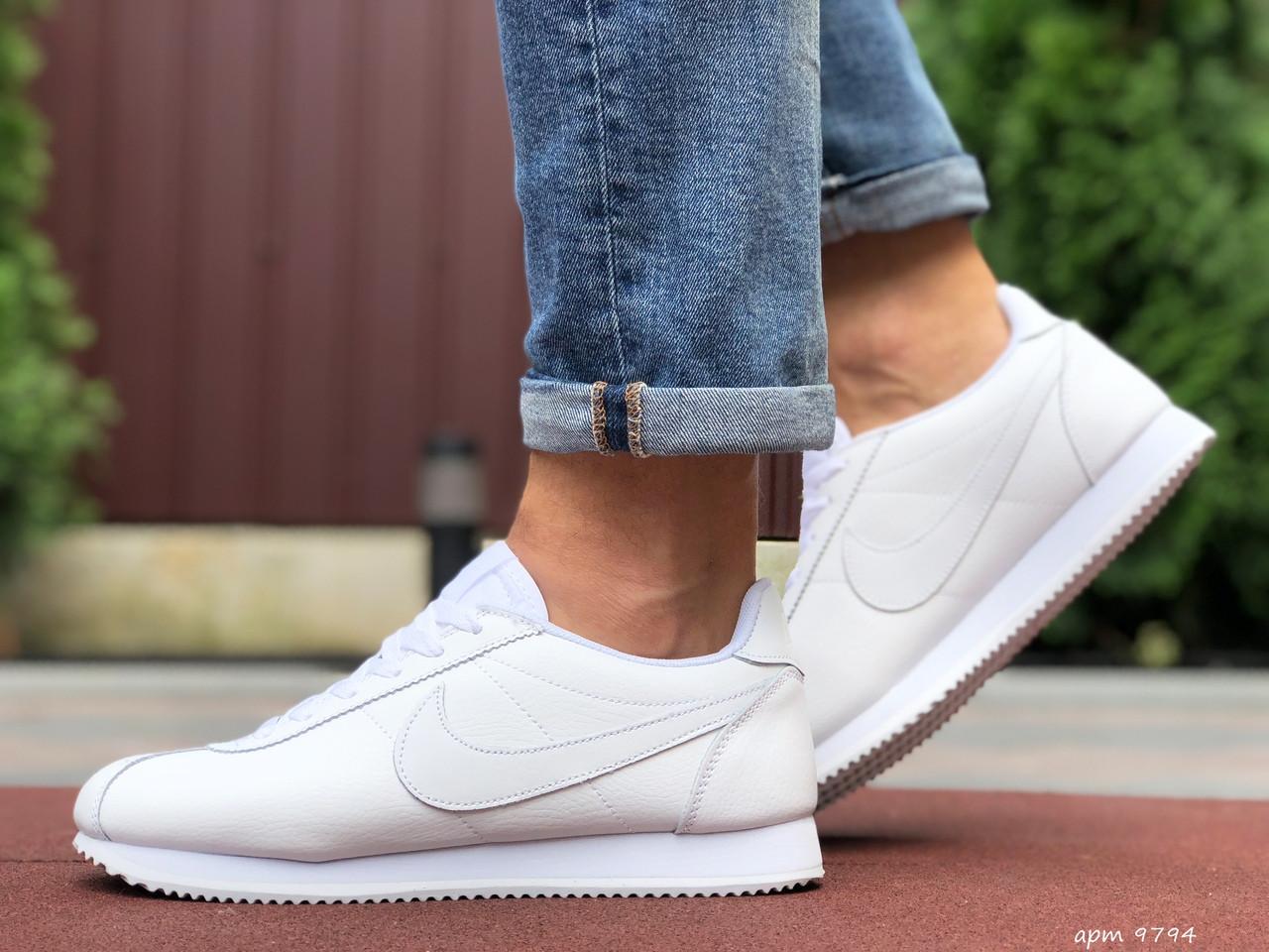 Чоловічі кросівки Nike Cortez білі