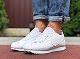 Чоловічі кросівки Nike Cortez білі, фото 2