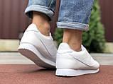 Чоловічі кросівки Nike Cortez білі, фото 3