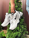 Чоловічі кросівки Nike М2К Tekno білі, фото 2