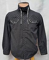 Модная на меху рубашка для мальчика 128 роста Джокер