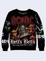 Мужской свитшот AC/DC HELLS BELLS