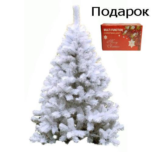 """Новорічна ялинка """"Біла казка"""" 2.5 м"""