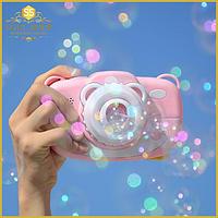 Генератор мыльных пузырей в виде фотоаппарата Игрушка для детей