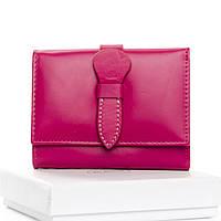 Компактный женский кошелек на кнопке Арт.WS-21 purple.red Dr. Bond (Китай)