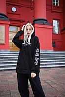 Худи оверсайз унисекс Taboo Kyiv Avatar the last airbender черный женский M