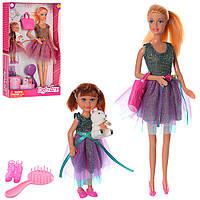 Кукла с дочкой в кор-ке 20,5-32-5см, фото 1