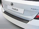 Пластиковая накладка заднего бампера для Skoda Fabia III 11.2014+, фото 2