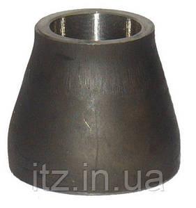 Перехід сталевий концентричний 108х76мм