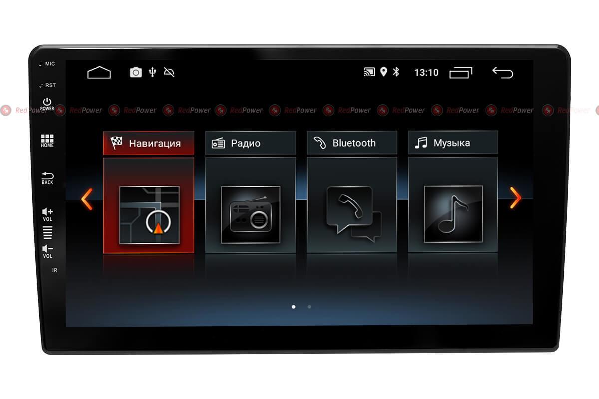 Универсальная автомагнитола RedPower серии S 300 экран 10 дюймов на Android 8