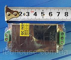 Блок питания 15 Вт,(1,25А)12В. Mini