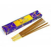 Благвоония Natural Lavender.Аромапалочки Натуральная Лаванда (15 gm) (Satya) пыльцовое благовоние