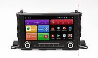 Штатное головное устройство для Toyota Highlander III U50 2014+ на Android 8 RedPower 51184 R K IPS , фото 1