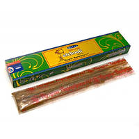 Благовония Natural Patchouli. Аромапалочки Натуральный пачули (15 gm) (Satya) пыльцовое благовоние