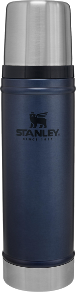 Термос STANLEY Classic Legendary 0.59 литра темно-синий Стенли Стэнли Стенлі Класік Классик