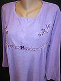 Теплые женские сорочки из махры на байке., фото 2