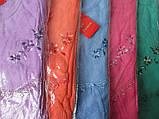 Теплые женские сорочки из махры на байке., фото 6