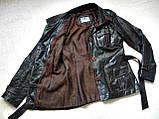 Жіноча шкіряна куртка Б/У Розмір S / 44-46, фото 3