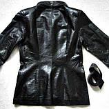 Жіноча шкіряна куртка Б/У Розмір S / 44-46, фото 5