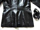 Жіноча шкіряна куртка Б/У Розмір S / 44-46, фото 6
