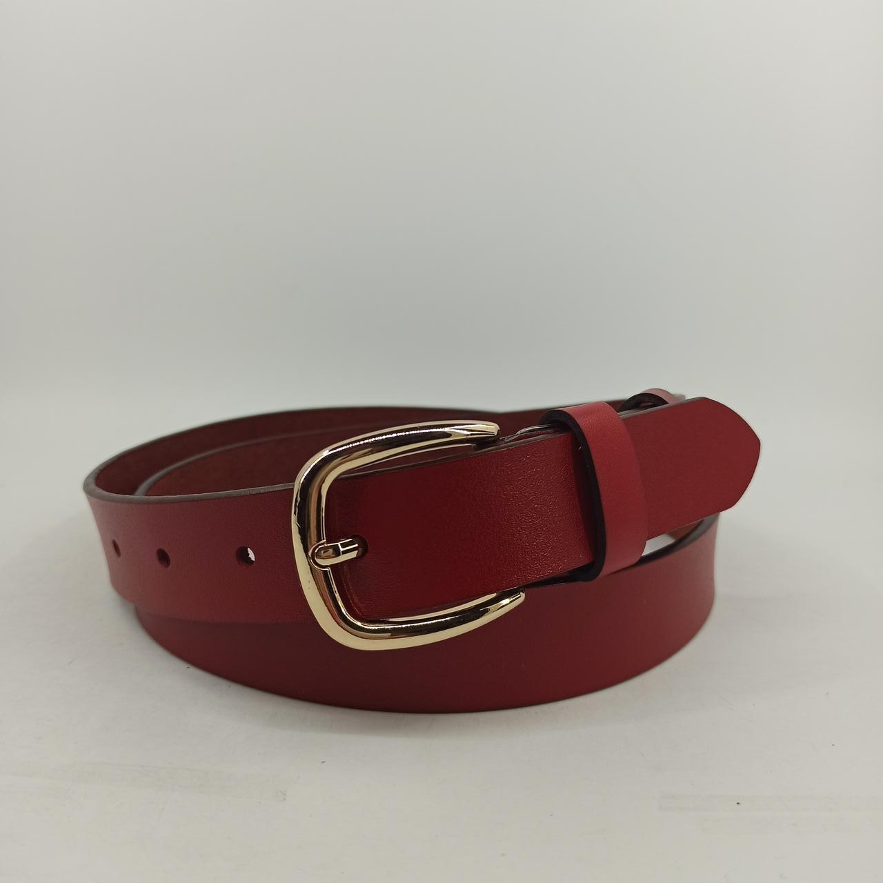 Женский кожаный ремень 3*120 Модель LW0520