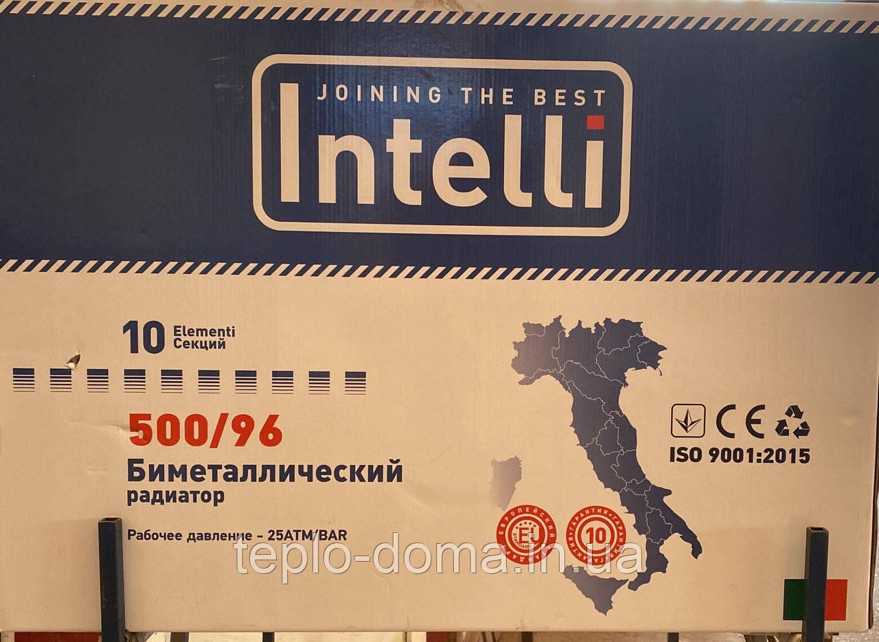 Радиатор биметаллический INTELLI 500/100 ИТАЛИЯ