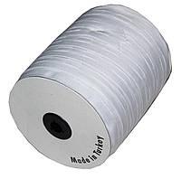 Тесьма шторная (25мм/100м) белая