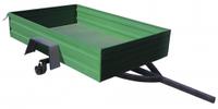 Прицеп к мототрактору ZV ПМ-500 (2,0х1,3х0,35 м, без колес, жигулевская ступица)