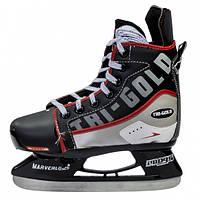 Коньки раздвижные детские хоккейные PVC TG-H901R
