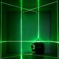 Лазерный уровень DEKO 3D PB1 12 линий Модель 2021 года ТРЕНОГА + МАГНИТНЫЙ КРОНШТЕЙН ЗЕЛЕНЫЕ лучи