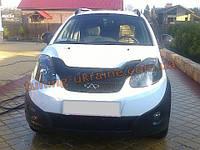 Дефлектор капота (мухобойка) VIP для CHERY Beat  Indis S18D с 2010 г.в