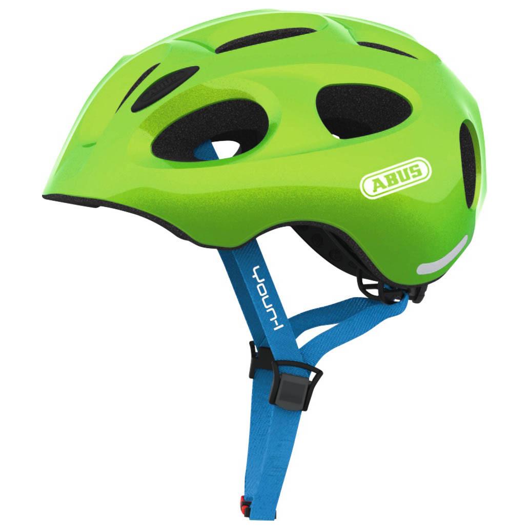Велосипедний дитячий шолом ABUS YOUN-I M 52-57 Sparkling Green