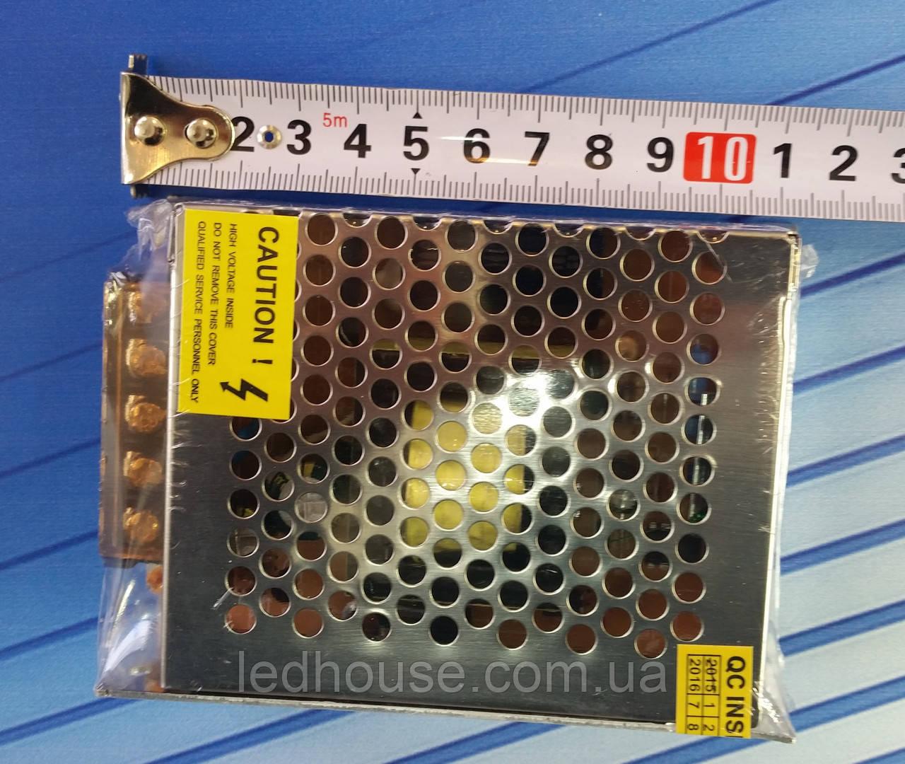 Блок питания 80 Вт,(6,66А)12В. Mini