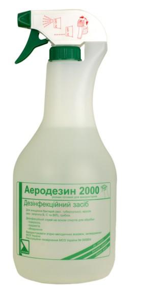 Средство для экстренной дезинфекции Аеродезин 2000 Лизоформ Др. Ханс Ро 1000 мл с распылителем