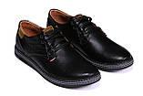 Мужские кожаные туфли  Levis Stage 1, фото 2