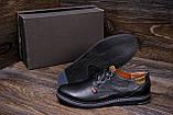 Чоловічі шкіряні туфлі Levis Stage 1, фото 7
