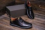 Мужские кожаные туфли  Levis Stage 1, фото 8