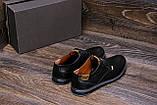Чоловічі шкіряні туфлі Levis Stage 1, фото 9