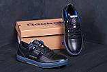 Чоловічі шкіряні кросівки Reebok, фото 7