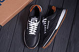 Чоловічі шкіряні кросівки Reebok Classic Leather Black Trail, фото 10