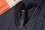 Мужские кожаные кеды Tom  HF Black, фото 10