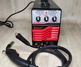 Сварочный полуавтомат Сириус MIG/MMA-290 (встр рукав, сопло, шланг, кабель, держатель,щиток)