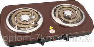 Плита двухконфорочная Rainberg RB-012 электрическая, спиральная 2000Вт R
