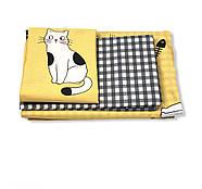 """Полуторный комплект (Бязь)   Постельное белье от производителя """"Королева Ночи""""   Коты на желтом, фото 2"""
