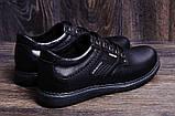 Мужские кожаные туфли Kristan black, фото 10
