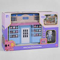Магазин Мороженного FDE 8623  аксессуары, флоксовый зайчик