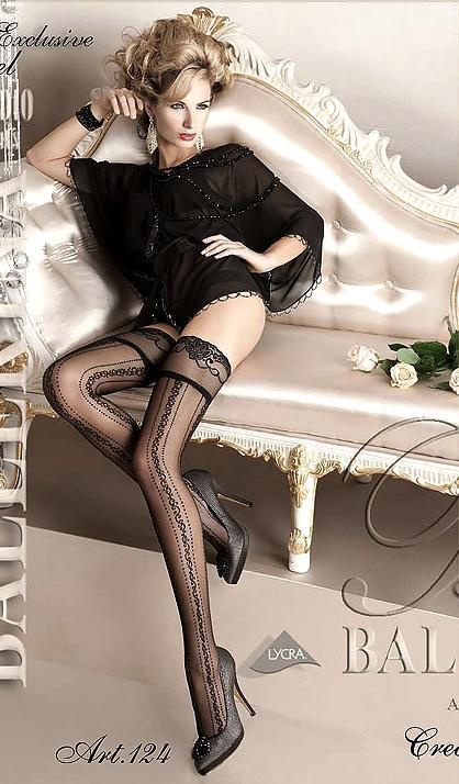 Чулки Ballerina 124 - черный