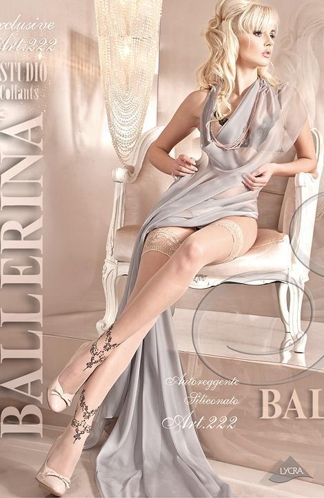 Чулки Ballerina 222 - бежевый